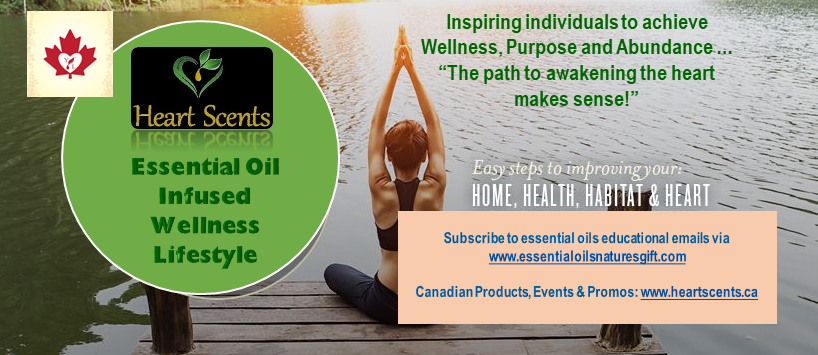 Heart Scents Essential Oil Infused Wellness Lifestyle
